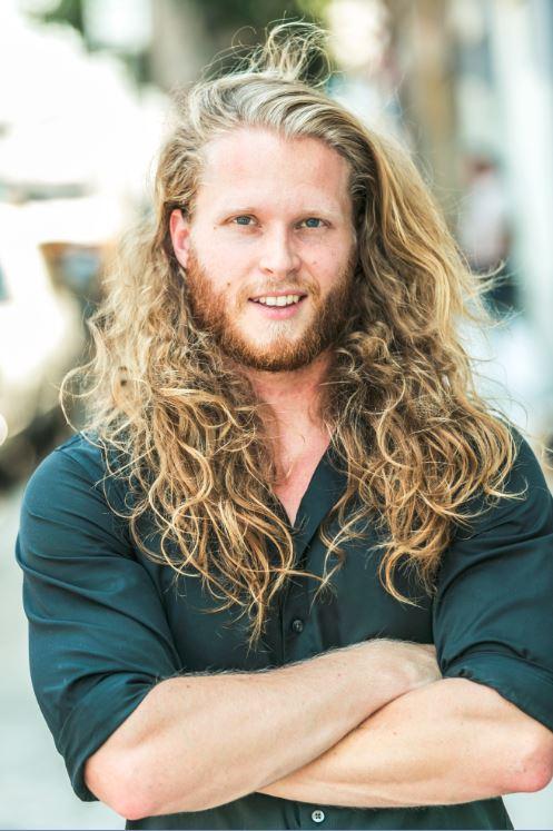 Aaron Groben web long hair